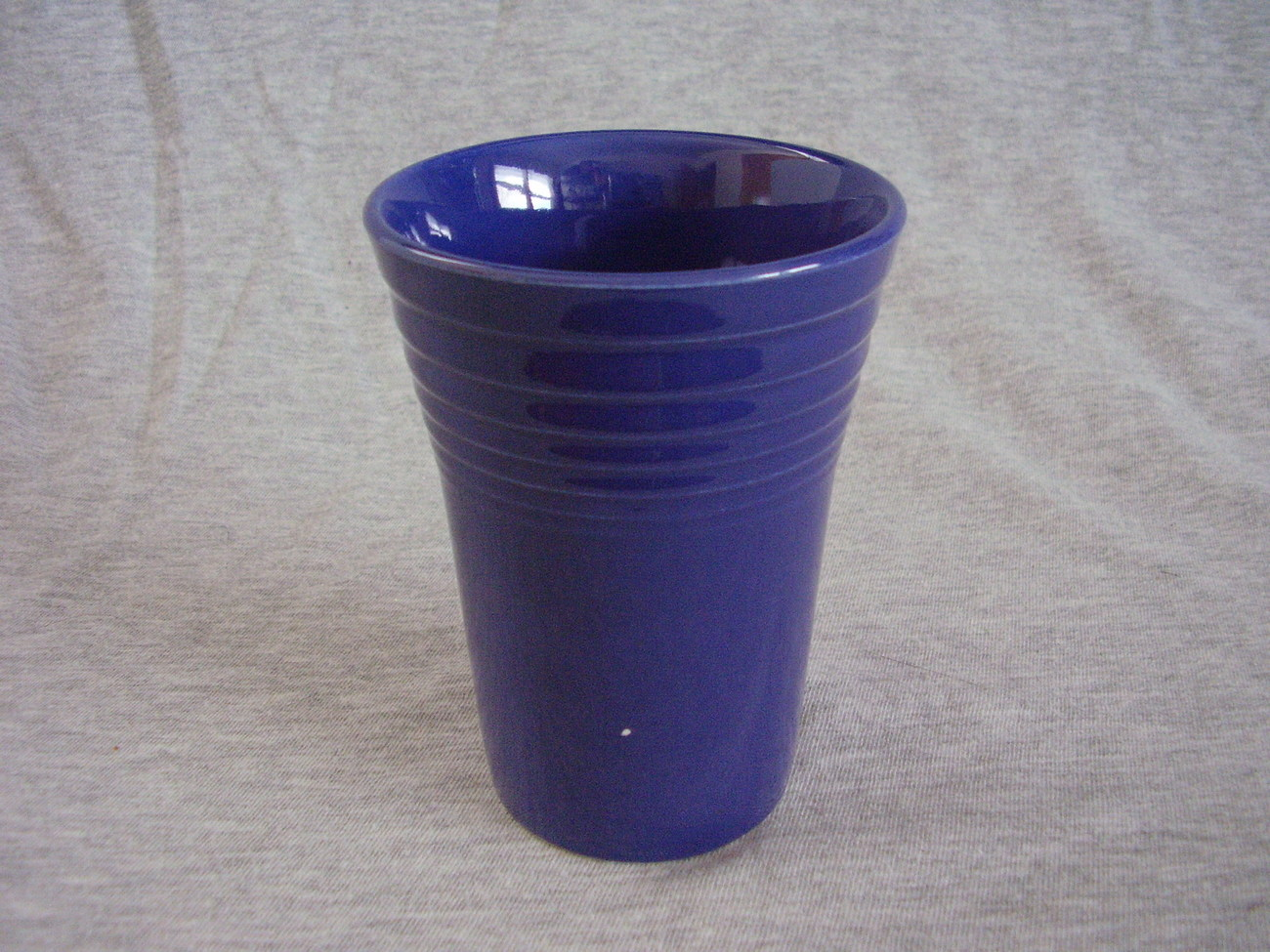 Vintage Fiestaware Cobalt Water Tumbler Fiesta  B