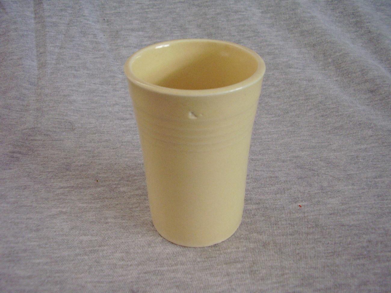 Vintage Fiestaware Ivory Juice Tumbler Fiesta