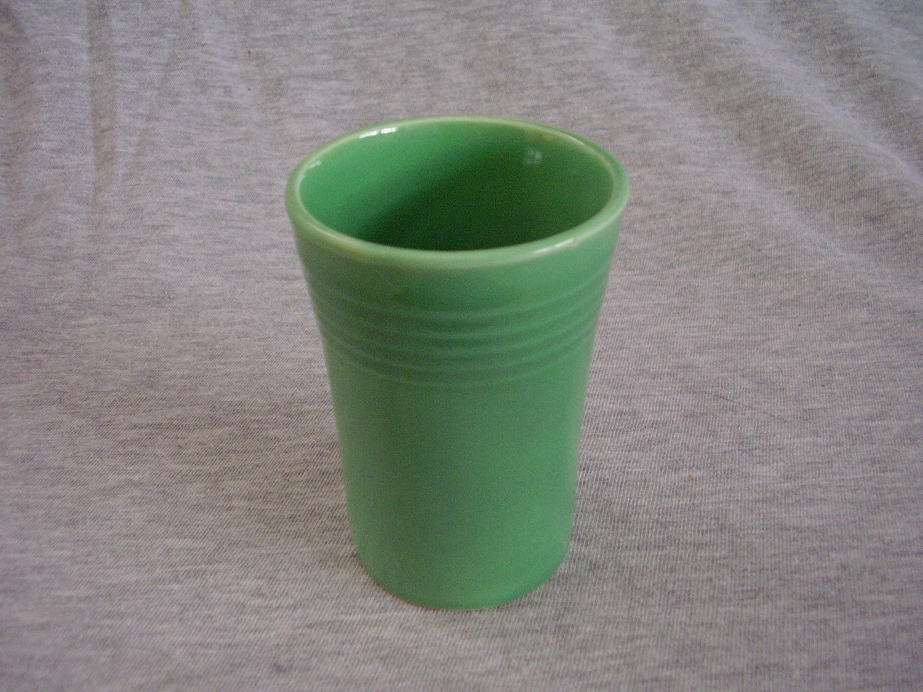 Primary image for Vintage Fiestaware Original Green Juice Tumbler Fiesta