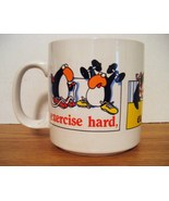RUSS Novelty Mug: Excercise Hard, Eat Fiber, Di... - $8.99