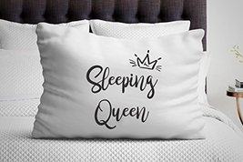 Signatives Girlfriend Gifts - Sleeping Queen Pillowcase - Unique Gifts -... - $16.82