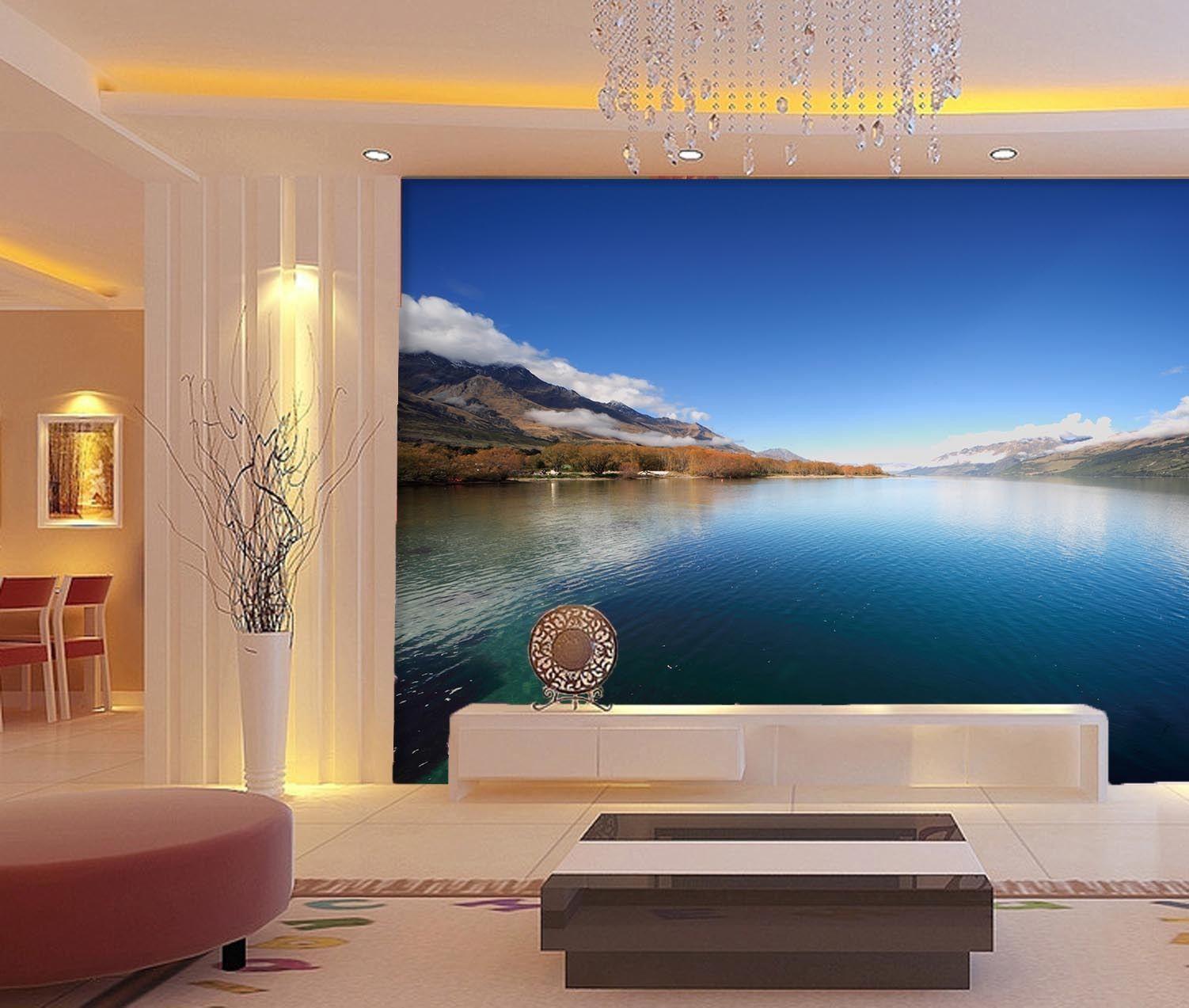 3D Vast See, Schönheit 255 Fototapeten Wandbild Fototapete BildTapete Familie - $52.21 - $323.81