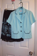 Studio 1 Beyond Beautiful Skirt Suit, size 6P - $25.40