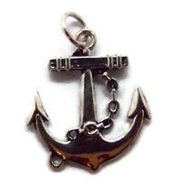 ANCHOR PENDANT .925 STERLING SILVER - $19.99