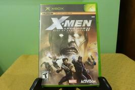 X-Men Legends II: Rise of Apocalypse (Microsoft Xbox, 2005) Complete MN - $9.89