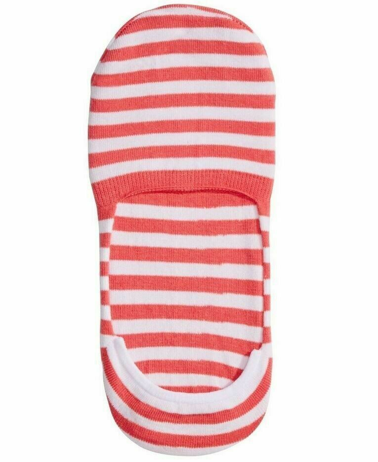 One Pair Hue Women's High Cut Resort Liner Socks Watermelon One Size U15216