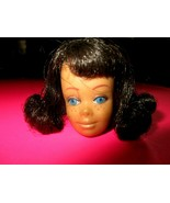 1960's Original Mattel Midge Doll Head Only Brunette Flip As shown - $12.86