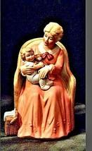 Vintage HOMCO 8743 Mother holder her child Figurine AA19-1416 image 1