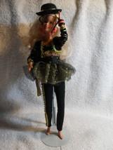 Barbie Doll Blond Fancy Hat 1975 Body 1979 Head Display Only Mint - $29.69