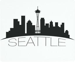 Vance 12 X 10 inch Seattle Skyline Saver Tempered Glass Cutting Board - $19.99