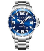 Stuhrling Regatta Champion 395 Quartz 42mm Diver - $95.00
