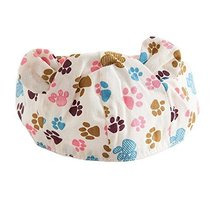 Summer Baby Hat Scarf Breathable Sun-resistant Comfy Beach Cap Empty Top Hat image 1