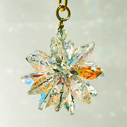 Clear and AB Small Suncluster with Austrian Crystal