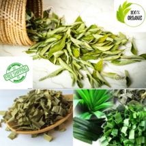 100% Pure and Organic Homemade Dried Curry Leaves and Pandan Leaves From... - $2.99+
