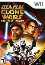 Star Wars: The Clone Wars - Republic Heroes (Nintendo Wii, 2009)M - $5.99