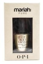 OPI Mariah Cary Pure 18k White Gold and Silver Top Coat Nail Laquer  .5 fl oz - $18.99