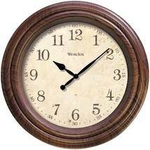 """Westclox 10"""" Realistic Woodgrain Wall Clock NYL33883P - $29.93"""