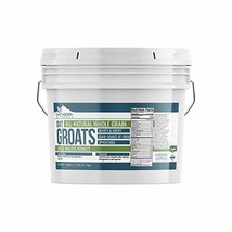Oat Groats, 1 Gallon Bucket 7 LBS by Earthborn Elements, & Uncut, Whole & Hulles