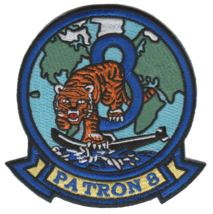 US NAVY VP-8 FIGHTING TIGERS PATCH NEW!!! - $11.87
