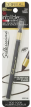 Loreal Silkissime Infallible Eyeliner #210 Charcoal 0.03 oz (2 PACK) - $8.80