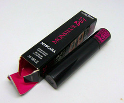 LANCOME MONSIEUR BIG Mascara No.01 Black 0.06oz./2ml NIB  - $9.85