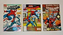 Lot of 3 Marvel Spider-man comics  33, 259 & 358 - £13.96 GBP