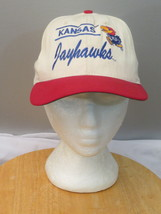 Kansas Jayhawks Hat (VTG) - Two Tone  with Scirpt - Adult Snapback - $39.00