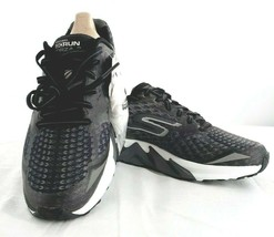 Skechers Women's GOrun Forza 2 Running Shoe, Black/White,US 6 M - $79.19