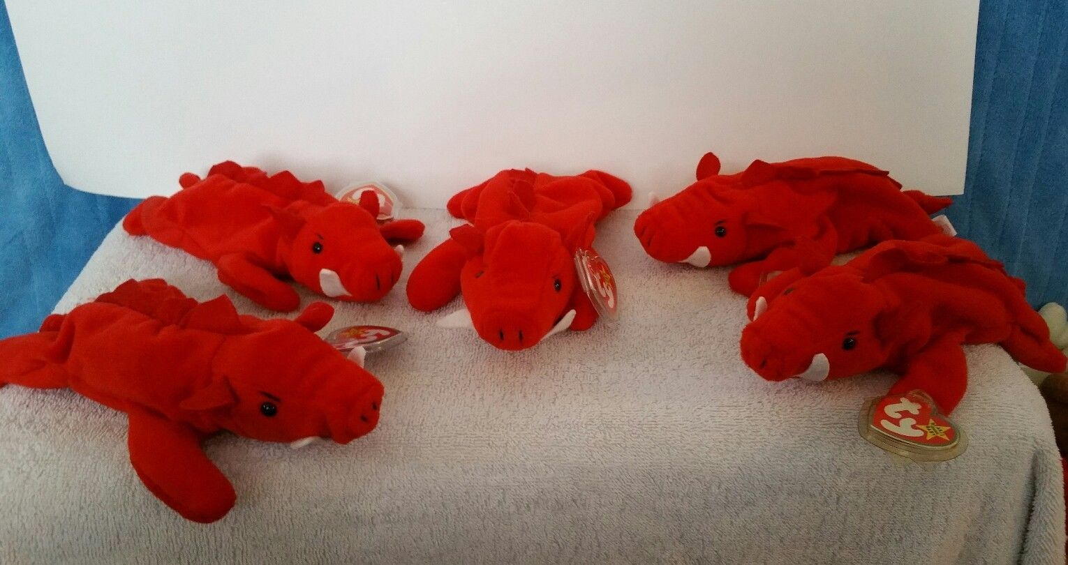 3c19f0f79c51c0 Ty beanie babies lot of 5 Grunt the and 50 similar items. S l1600