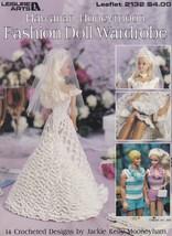 Hawaiian Honeymoon Fashion Doll Wardrobe, Leisure Arts Crochet Patterns ... - $8.95