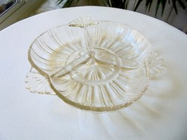 Hazel Atlas 1930's Divided Candy Nut Dish Pattern # 572 - $21.77