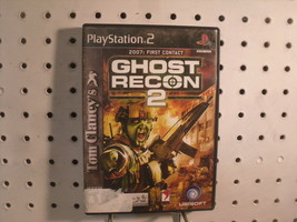 Ghost Recon 2 2007: First Contact PS2 Tom Clancy Game Ubisoft - $12.56