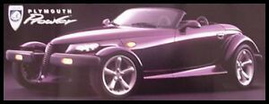 1997 Plymouth Prowler Color Brochure MINT