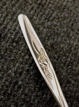 International Stainless Random Rose Lot of 2 Soup Spoons Tablespoons 6 3... - $8.95