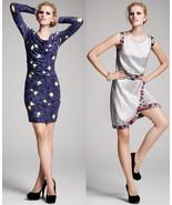 Kinder Aggugini For Impulse Grey With Floral Design Dress Size 10 - $39.00