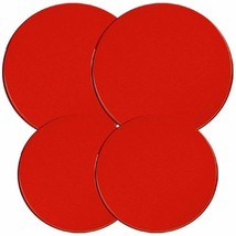Reston Lloyd Electric Stove Burner Covers, Set of 4, Red - $38.70