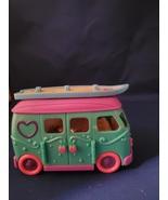 Squinkies Camper Van Bus Blip Toy Car Vehicle Blue Purple - $15.00