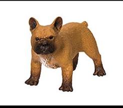 FRENCH BULLDOG BROWN FIGURINE PET SAFARI LTD TOY - $11.00