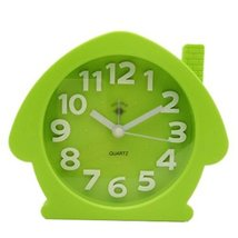 George Jimmy Cute Student Alarm Clock Stylish Silent Bedside Alarm Clock #19 - $29.62