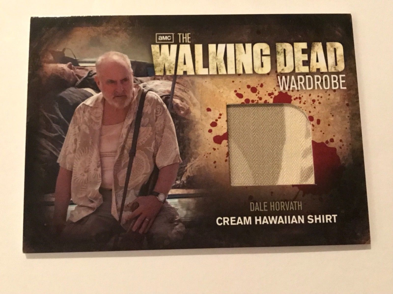 Primary image for Cryptozoic Walking Dead Season 2 Wardrobe Jeffrey DeMunn as Dale M24