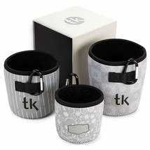Flower and Plant Pot, Set of 3, Neoprene Fabric, Indoor and Outdoor - St... - $24.74