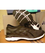 Asics women's gel kayano 24 running shoes black phantom white size 6.5 us - $118.75