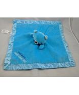 Hallmark Dayspring Blue Bear Lovey Security Blanket Jesus Loves You Stuf... - $10.95