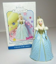 1999 Barbie Cinderella Doll Childrens Collectors Series Hallmark Ornament - $11.29