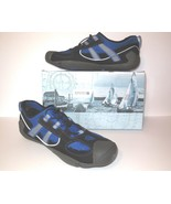 Sperry Top Sider new Son-R Bungee Men's Water Shoes sz 12 M Black Blue NIB  - $40.00