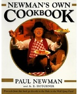 Newman's Own Cookbook..Authors: Paul Newman and A. E. Hotchner (used har... - $9.00