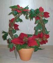 Presidents Club Holiday Gift Poinsettia In Clay Pot  Avon 2001 New - $9.95