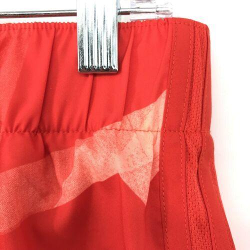 Adidas Donna Activewear Pantaloncini Corsa Misura Piccolo 3 'Rosso Stampa Tirare image 6