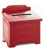 Hallmark CHRISTMAS IN EVERGREEN Letters To Santa North Pole Red Mailbox ... - $26.23