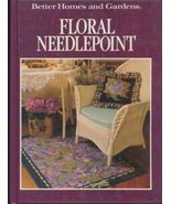 Needlepoint Book, Floral Needlepoint, BH&G 1990 HC - $7.82